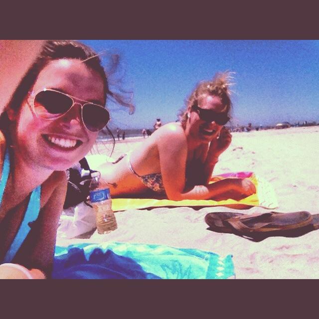 Enjoying the Surf, Sun and Sand