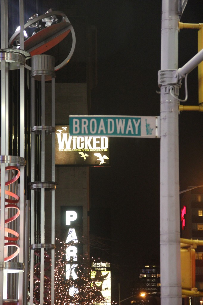 See a Broadway Play: Check!
