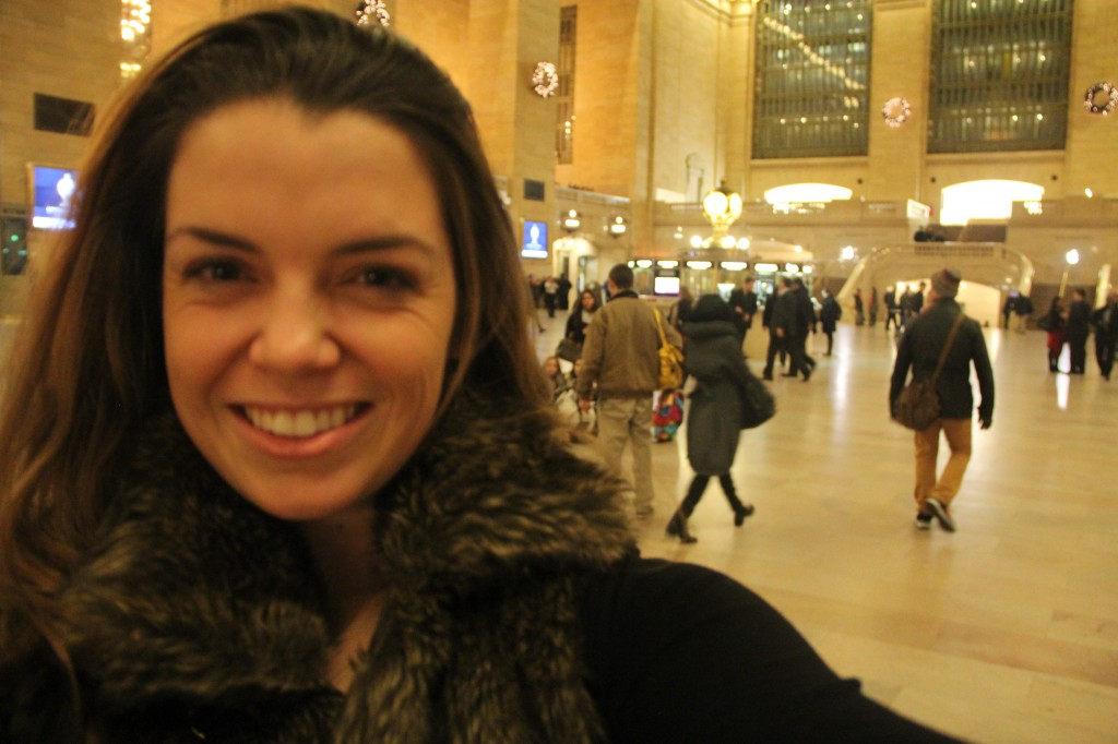 Out of Focus Selfiez in Grand Central