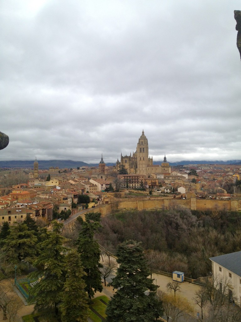 View of El Catedral from El Alcázar