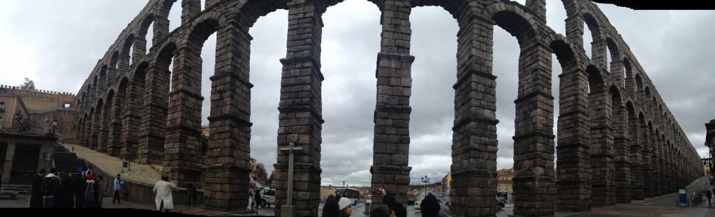 Panorama of El Aqueducto