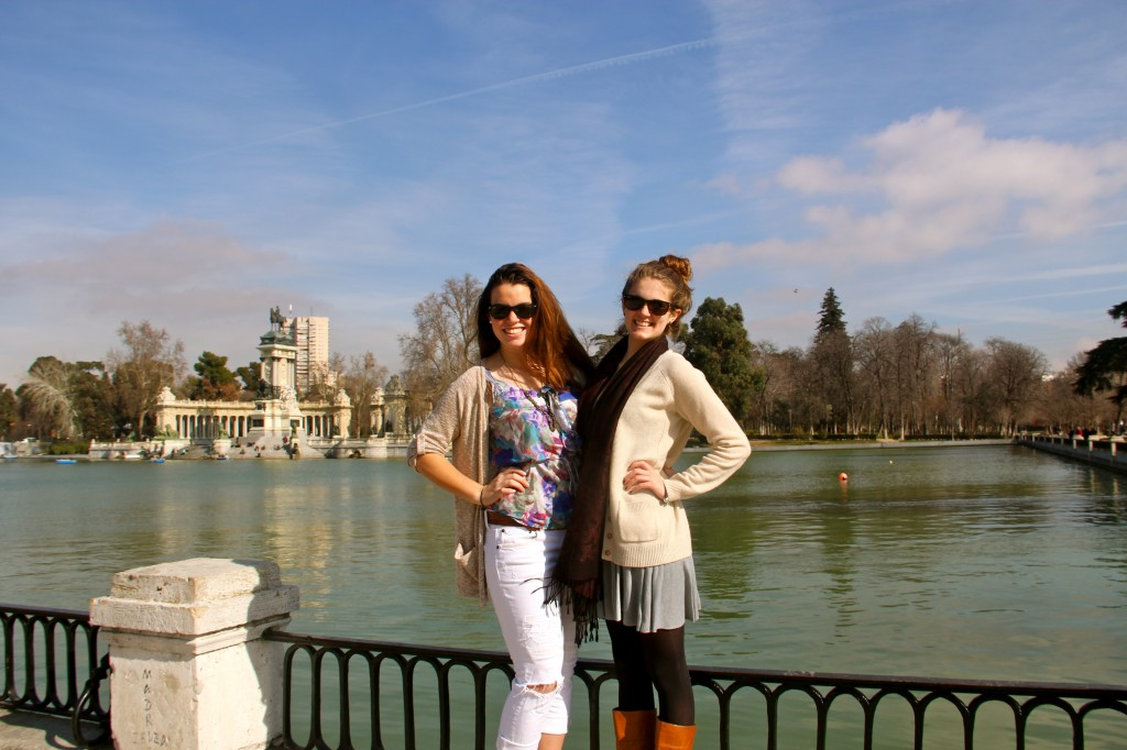 Roomies at Retiro