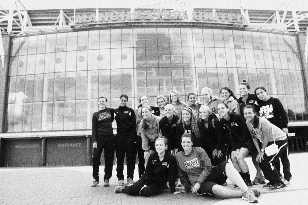 NYUWS at Old Trafford