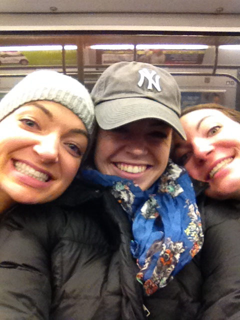 Selfies on the Subway