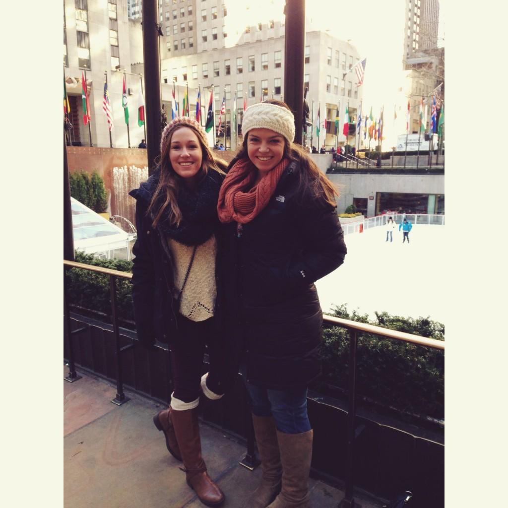 Friends at Rockefeller