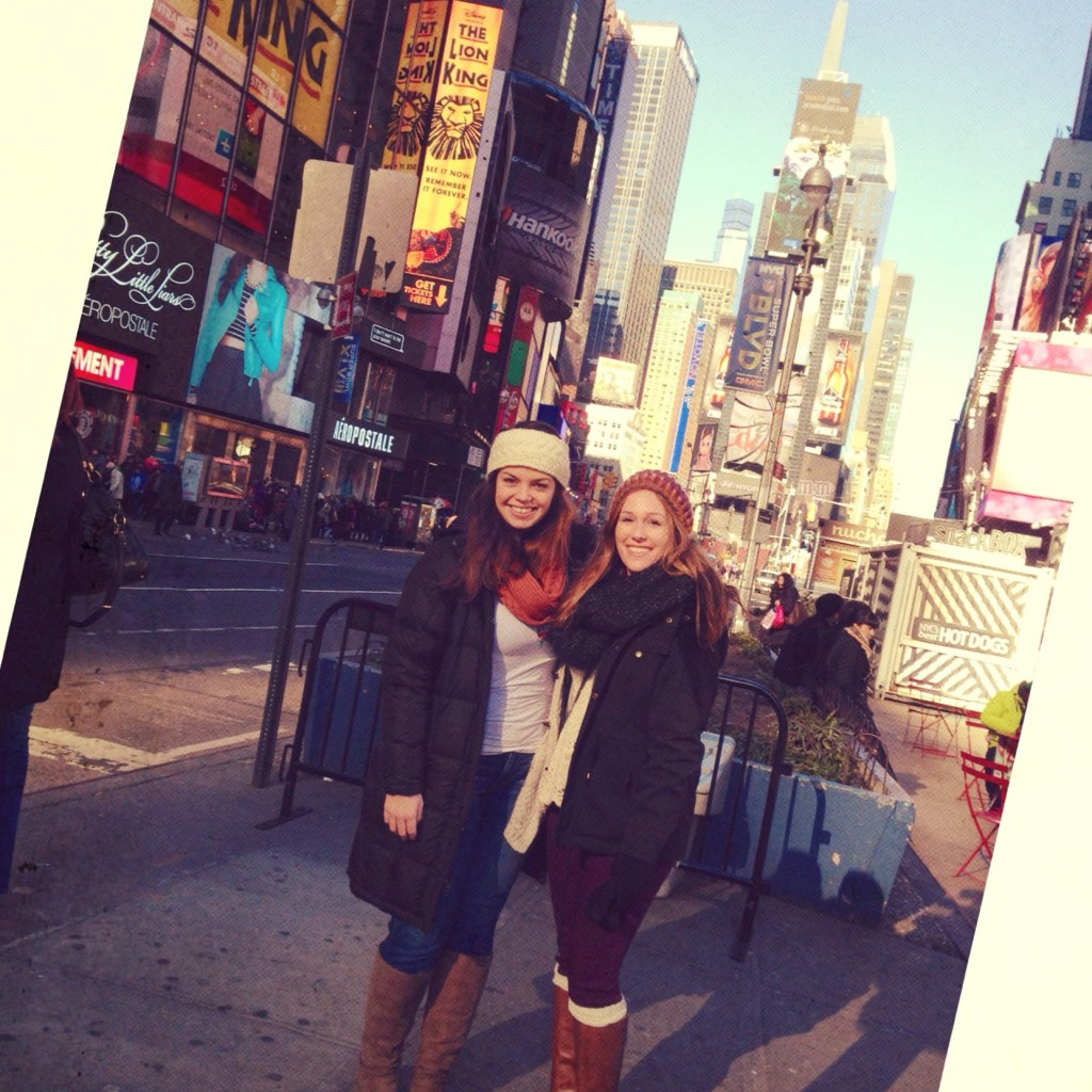 Typical Touristy Times Square Photo